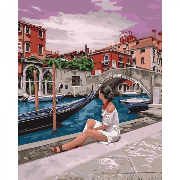 """Картина по номерам Идейка 40х50см """"Удивительная Венеция ..."""